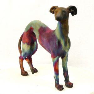 Standing Greyhound1
