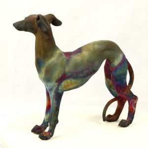 Standing Greyhound3