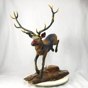 leaping deer1